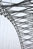 Steel arch structure Stock Images
