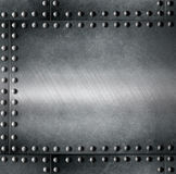 Steel armour metallic background Stock Images