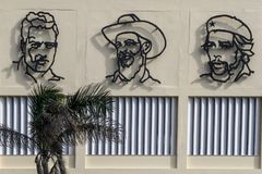 National heros, Havana, Cuba Stock Photos