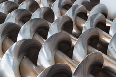 Steel augers . Royalty Free Stock Photography