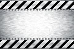 Steel background Stock Images