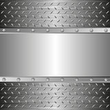 Steel background Stock Photography
