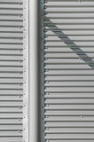 Steel background. Large steel structure background detail Royalty Free Stock Image