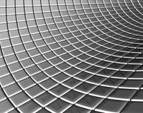 Steel background with reflection Royalty Free Stock Photography