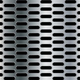 Steel background with seamless ellipse perforated carbon texture background. Steel background Stock Photos