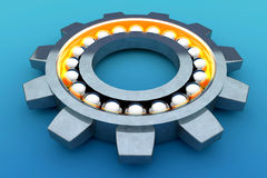 Steel ball bearing Royalty Free Stock Photos
