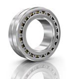 Steel ball bearing. Illustration on white background Stock Photography