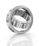 Steel ball bearing. Illustration on white background Royalty Free Stock Photo