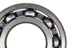 Steel ball bearing. Macro steel ball bearing  isolated on white background Royalty Free Stock Image