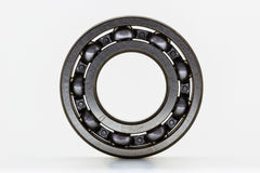 Steel ball bearing. On white background Royalty Free Stock Image