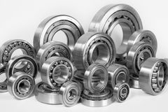 Steel ball bearings Royalty Free Stock Photo