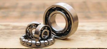 Steel ball bearings Stock Images