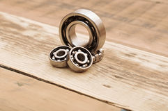 Steel ball bearings Stock Images