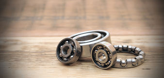 Steel ball bearings Royalty Free Stock Photography