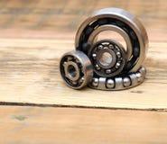Steel ball bearings Stock Image