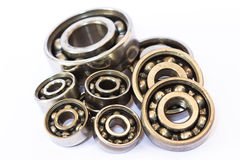 Steel ball bearings Stock Image
