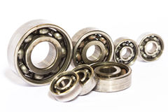 Steel ball bearings Royalty Free Stock Images