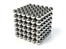 Steel balls Stock Image
