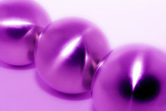 Steel balls blur Royalty Free Stock Image