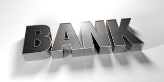 Steel Bank Royalty Free Stock Photo
