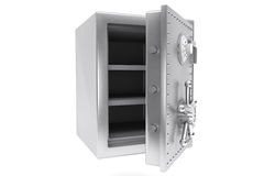 Steel Bank safe Stock Photo