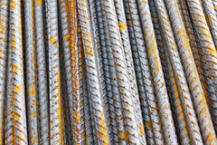 Steel bar background texture Royalty Free Stock Images