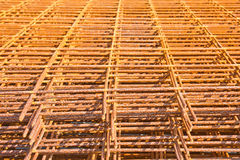 Steel bar background texture Royalty Free Stock Photos