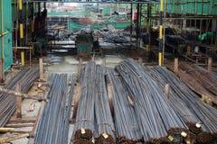 Steel bar Stock Image