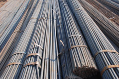 The steel bar depositary Stock Photography