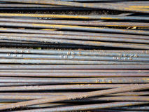 Steel bar Stock Image