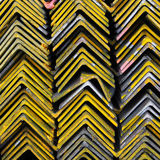 Steel bar material components Stock Photography
