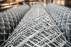 Steel bar. Is the most used building material Stock Photography