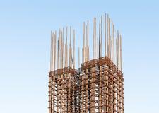 Steel bar pole Royalty Free Stock Photo