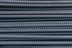 Steel bar texture Stock Images