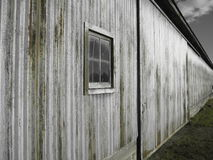 Steel Barn Royalty Free Stock Photo