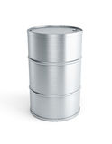 Steel barrel Royalty Free Stock Photography