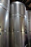 Steel barrels Stock Image