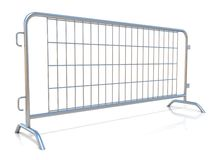 Steel barricades Royalty Free Stock Image