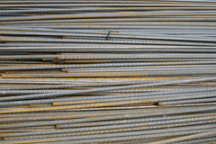 Steel bars. Background Stock Images