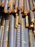 Steel bars Royalty Free Stock Photos