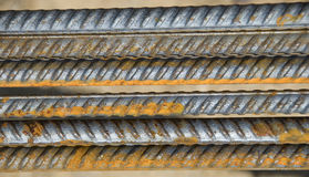 Steel bars Stock Images