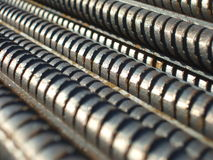 Steel bars stock photography
