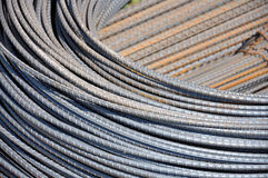 Steel bars. Close up images of steel bars for construction stock photography
