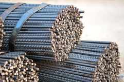 Steel bars Stock Photo