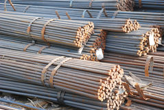 The steel bars bundle Royalty Free Stock Images