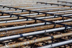 Steel bars construction materials Stock Photography