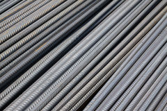 Steel bars construction materials Stock Images