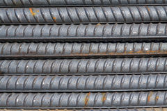 Steel bars construction materials Royalty Free Stock Photo