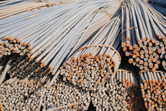 The steel bars pile Royalty Free Stock Photography