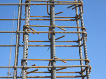 Steel Bars,Reinforce,Rebar Stock Photography